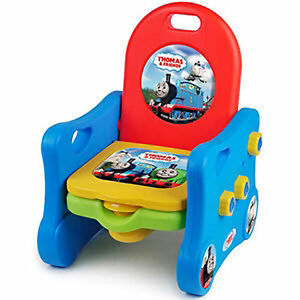 Colorful Thomas The Train U0026 Friends Graphics Are Featured In This 3 Stage  Toilet Training System. I Find The Potty Bowl Isnu0027t Large Enough, Needs To  Be Oval ...