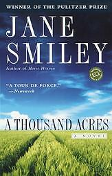 thousand acres by jane smiley  1992  pap    photo contributed by  m