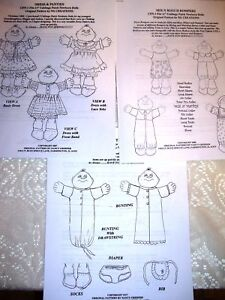 Ravelry: Cabbage Patch Doll Clothes pattern by Jessica Tromp