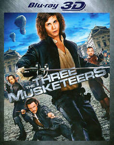 The Three Musketeers (Blu-ray Disc, 2012...