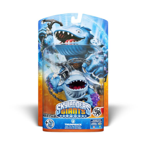 Thumpback Best Skylander Giant Universe NEW FREE US SHIPPING Water Whale Wii in Toys & Hobbies, Action Figures, TV, Movie & Video Games | eBay