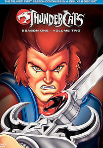 Thundercats  on Thundercats Season One  Volume Two Dvd  2005  6 Disc Set   Ebay