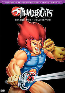 Thundercats   on Thundercats Season Two  Volume Two Dvd  2006  6 Disc Set   Ebay