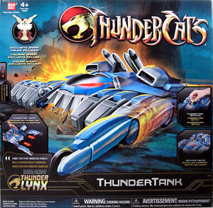 Thundercats Vehicle on Thundercats Thundertank With Snarf  Animated Bandai New Thunder Tank