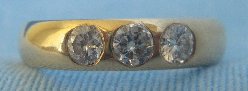 Tiffany & Co. 18K Yellow Gold & Diamond Ring