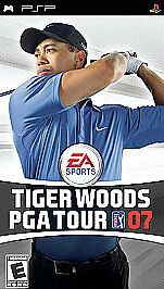 Tiger Woods PGA Tour 07  (PlayStation Po...