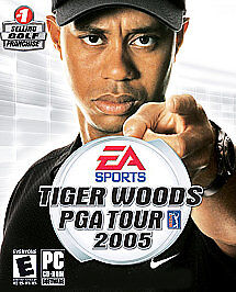 Tiger Woods PGA Tour 2005  (PC, 2004)