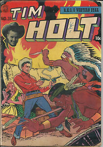 Tim Holt 31 Mag Enterprise Comic 1952 VG Ghost Rider Story | eBay