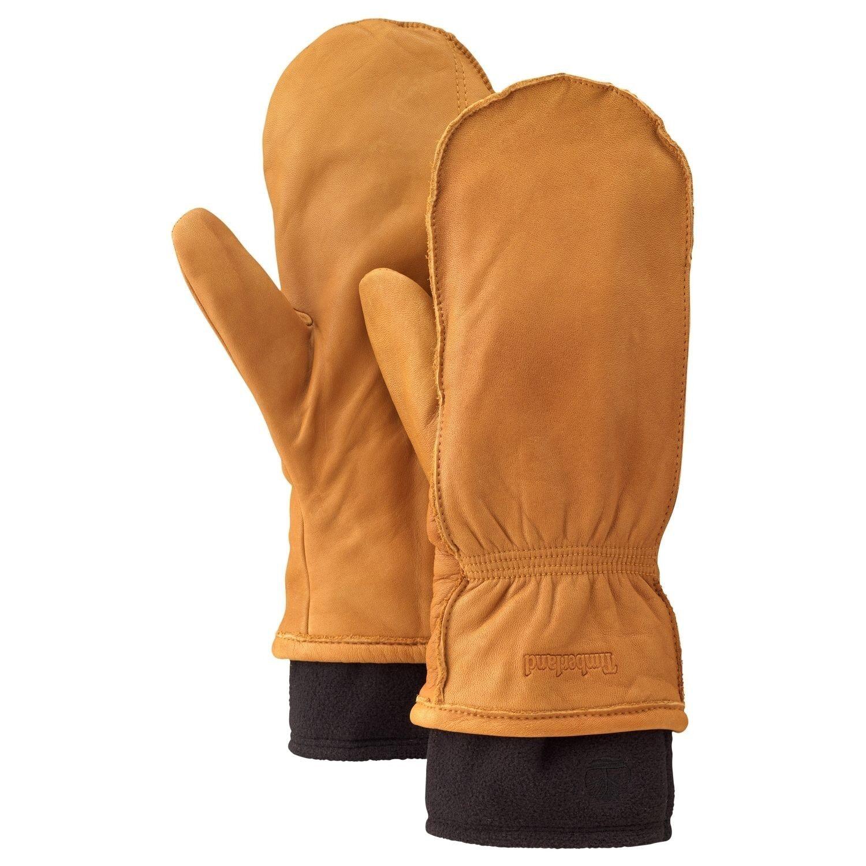 Timberland Men S Women S Glove Mitten Leather Fleece