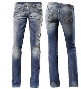 timezone jeans tahila 3227 mittelblau gr e w hlbar schicke damen jeans ebay. Black Bedroom Furniture Sets. Home Design Ideas