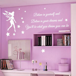 ... -Stars-Children-Nursery-Wall-Stickers-Quotes-Wall-Decals-Wall-Arts