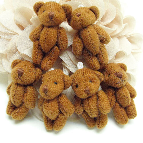 Tiny baby teddy bear doll charms Brown 35x20mm 5PCS (3-8-57) in Dolls & Bears, Bear Making Supplies | eBay