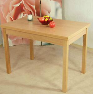 Tisch ausziehbar esstisch k chentisch esszimmertisch for Wohnzimmertisch und esstisch in einem