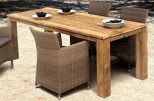 tisch dorado old teak garten esstisch gartentisch wohnen. Black Bedroom Furniture Sets. Home Design Ideas