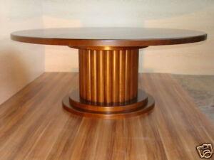 Details zu Tisch Esstisch rund Ø190 cm Eiche massiv von Lignum Art