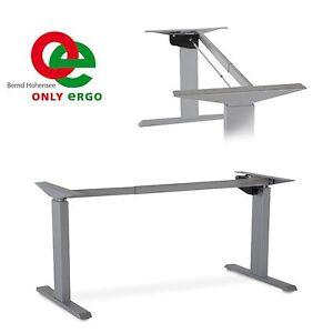 tischgestell ergonomischer schreibtisch elektrisch stufenlos h henverstellbar ebay. Black Bedroom Furniture Sets. Home Design Ideas