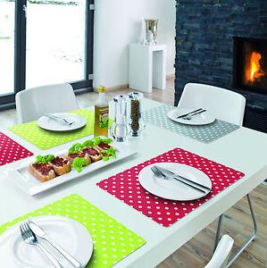 tischset platzset platzdeckchen kunststoff abwaschbar versch designs ebay. Black Bedroom Furniture Sets. Home Design Ideas