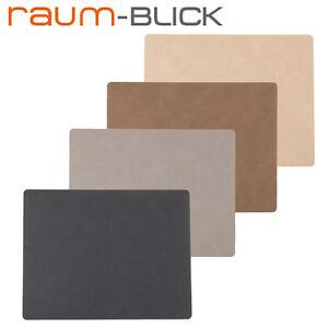 Tischset tablemat square lind dna leder platzset ebay - Leder tischset ...