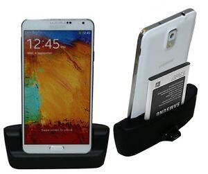 Tischstaender-mit-Ladestation-fuer-Samsung-Galaxy-Note-3-N9005-Zubehoer-Netzteil