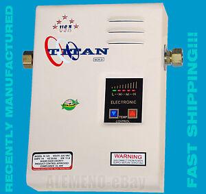 Titan tankless water heater scr2 model n 120 n100 n85 brand new free