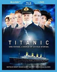 Titanic (Blu-ray/DVD, 2012, 3-Disc Set)