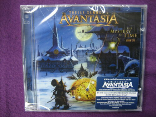 Tobias Sammet's Avantasia / The Mystery Of Time ; Rock Epic DELUXE EDITION 2 CD in Music, CDs | eBay