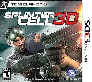 Tom Clancy's Splinter Cell 3D  (Nintendo...