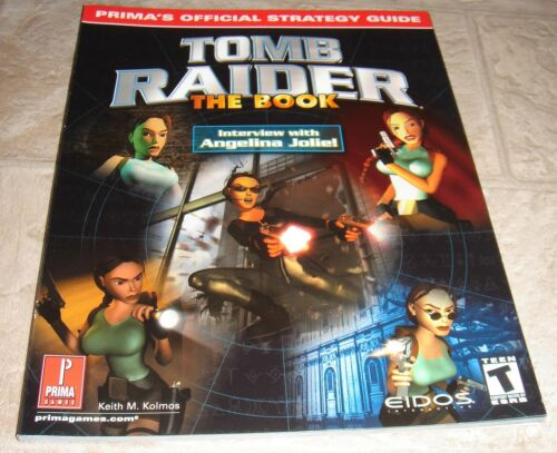 Tomb Raider The Book Strategy Guide for Playstation Brand New! in Video Games & Consoles, Strategy Guides & Cheats | eBay