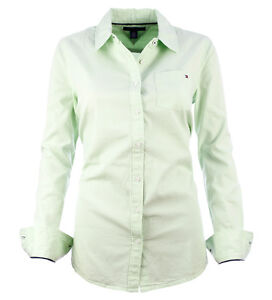 tommy hilfiger damen langarmshirt aurora oxford shirt ls. Black Bedroom Furniture Sets. Home Design Ideas