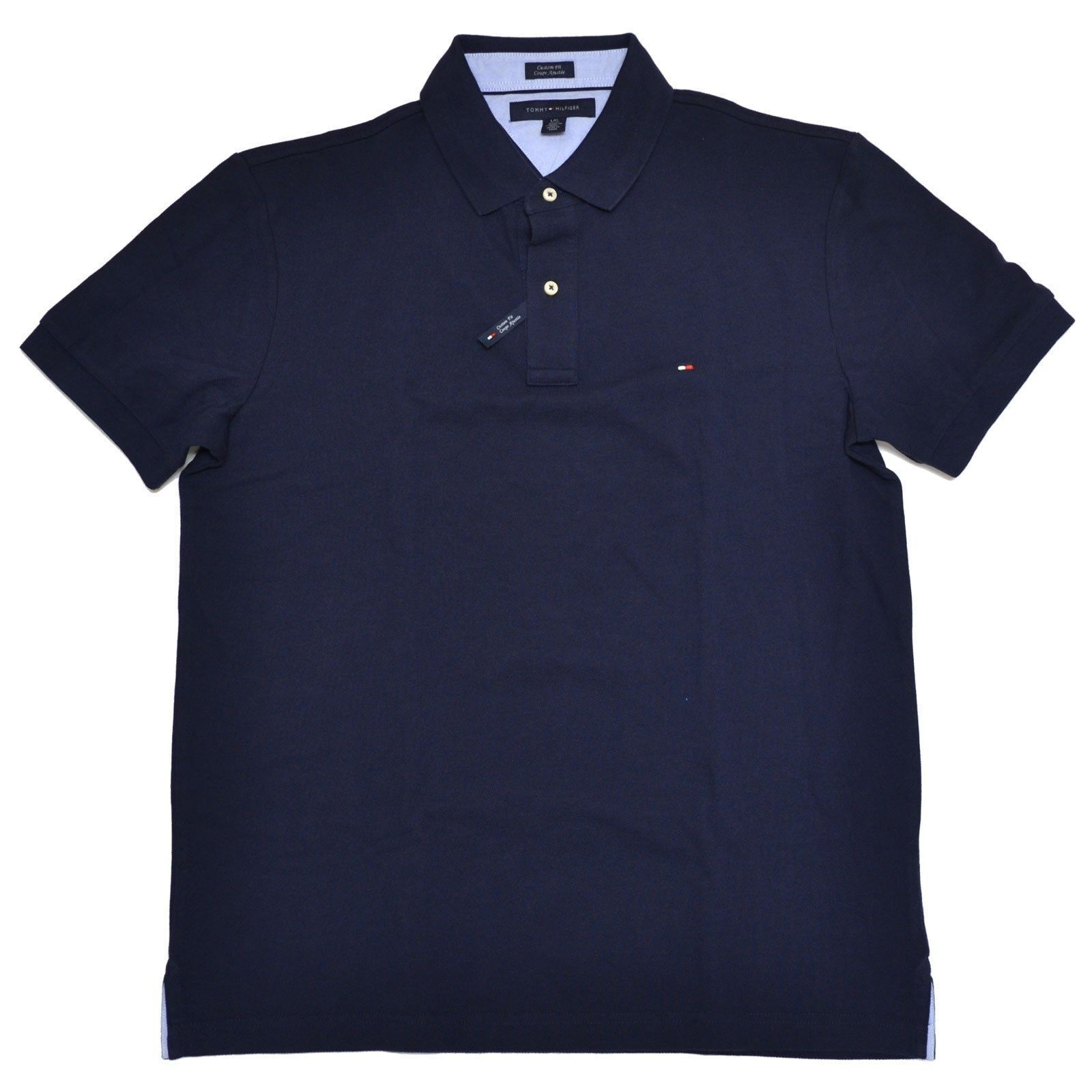 tommy hilfiger poloshirt polo shirt darkblue size s xxxl. Black Bedroom Furniture Sets. Home Design Ideas