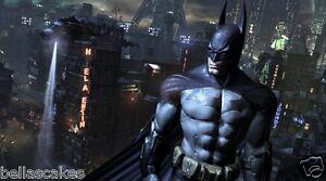 Tortenaufleger-Batman-Superheld-A4-essbar-NEU-backen-DVD-Dekoration-Kuchen-Kostuem