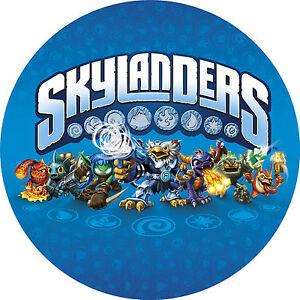 Tortenaufleger-Skylanders-Swap-Force-Giants-NEU-Oblate-Tortenbild-Spiel-Figur-ps