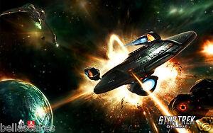 Tortenaufleger-Star-Trek-Dekoration-A4-essbar-Kuchen-backen-DVD-Raumschiff-neu