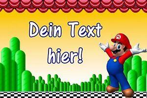 Tortenaufleger-Super-Mario-Luigi-Spiel-Muffin-NEU-Deko-Tortenbild-mit-Namen-A4