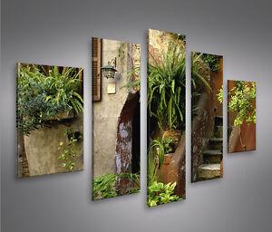 toskana mf bild auf leinwand bilder kunstdruck wandbild poster ebay. Black Bedroom Furniture Sets. Home Design Ideas