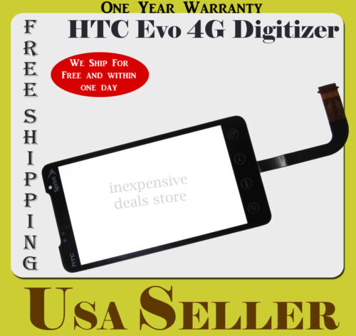Touch Screen Lens Digitizer Glass Replacement For HTC EVO 4G New OEM Sprint in Consumer Electronics, Gadgets & Other Electronics, Other | eBay