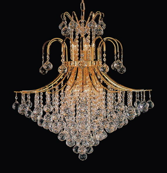 Toureg contour 10 light modern crystal chandelier dining room lighting fixture ebay - Dining room crystal chandelier lighting ...