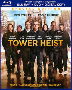 Tower Heist (Blu-ray/DVD, 2012, 2-Disc S...