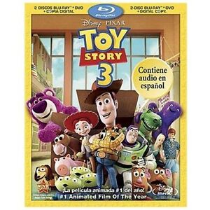 Toy Story 3 (Blu-ray/DVD, 2010, 4-Disc S...
