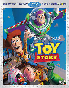 Toy Story (Blu-ray/DVD, 2011, 4-Disc Set...
