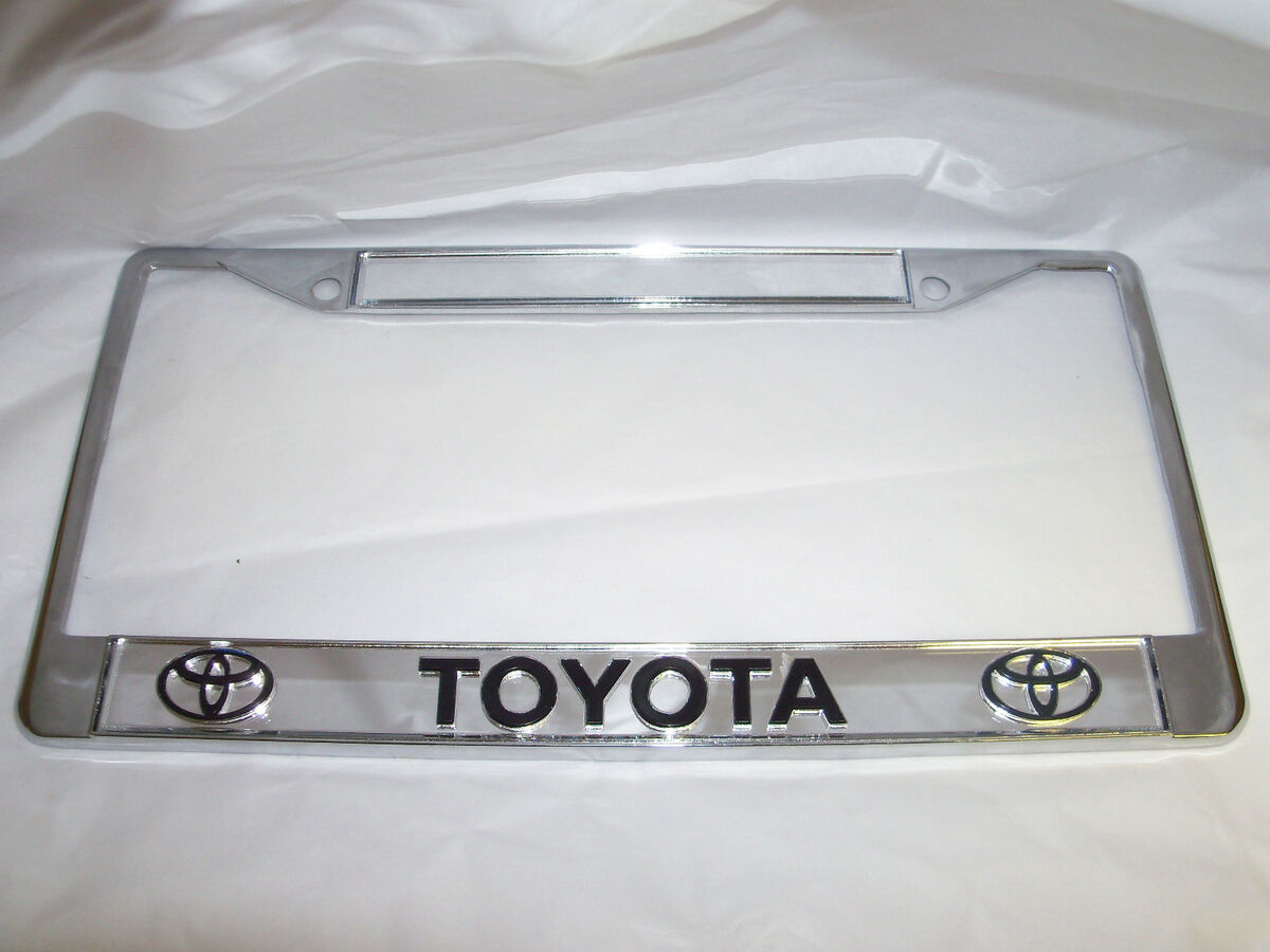 Toyota License Plate Frame Brand New