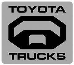 Toyota truck logo decal