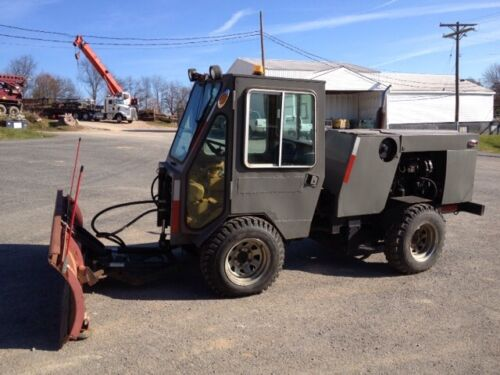 Trackless MT3 4x4 Tractor Utility Vehicle W/ Cab & Snow Blade! in Business & Industrial, Construction, Heavy Equipment & Trailers | eBay