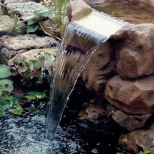 Trademark Deluxe Waterfall Pond Kit Outdoor Koi Fish