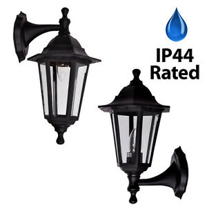 traditional victorian style outdoor wall lantern ip44