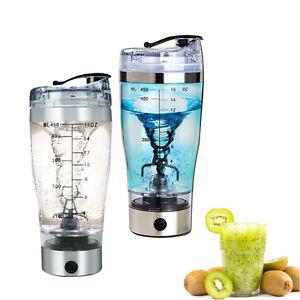 Tragbare-Tasse-fuer-Kaffee-Obstsaft-Protein-Shaker-Tornado-Mixer-Cup-Ruehren-450ml