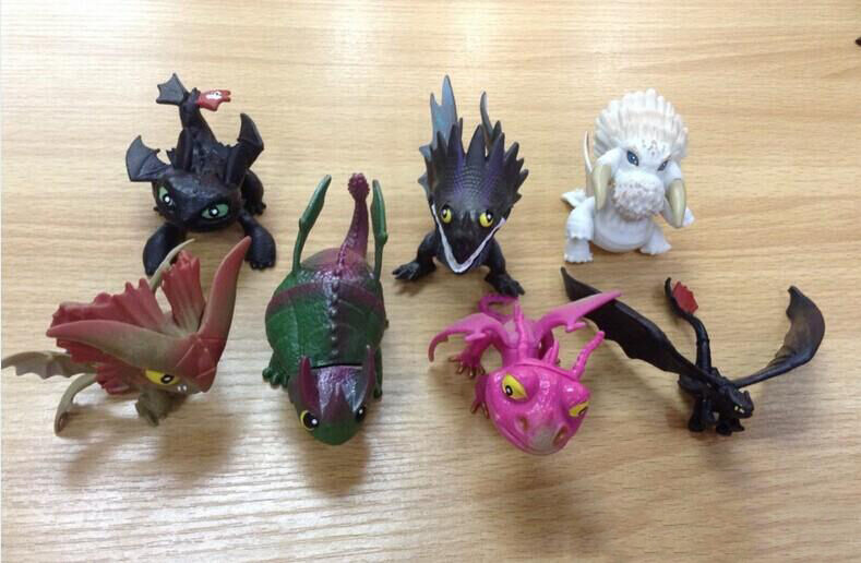 how to train your dragon figures ebay