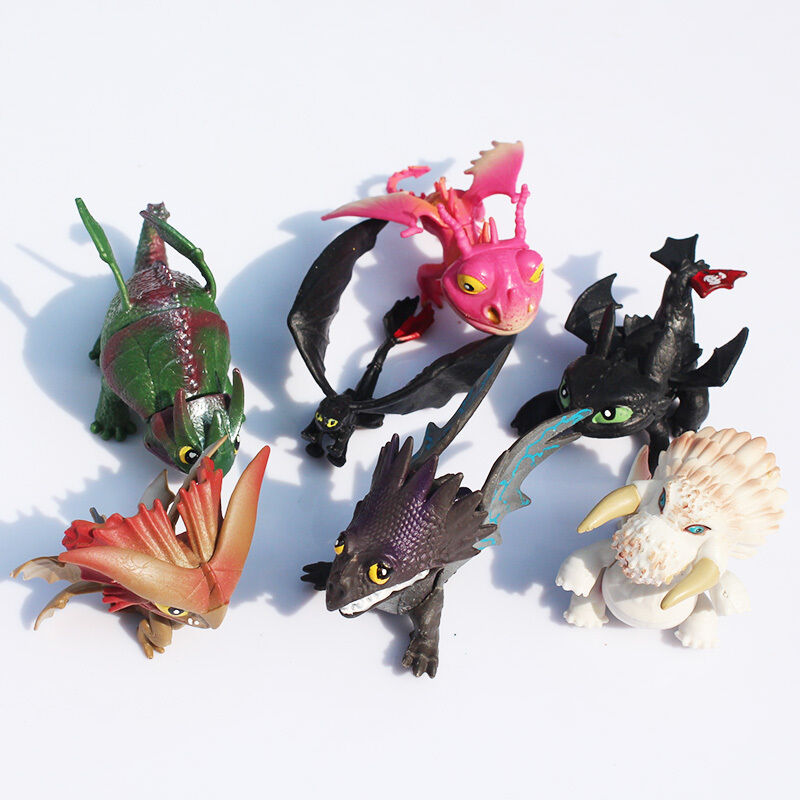 How To Train Your Dragon 7pcs Action Figures Set