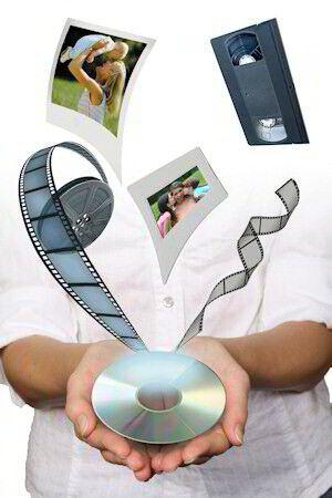 Transfer 1 VHS, VHS-C, S-VHS, Mini-DV, Hi-8, Digital 8, 8mm, Hi-8mm Tape to DVD in Specialty Services, Media Editing & Duplication, Photo & Video | eBay