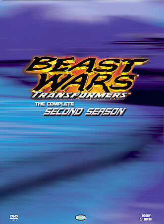 Transformers Beast Wars   The Complete Second Season DVD, 2004, 2 Disc